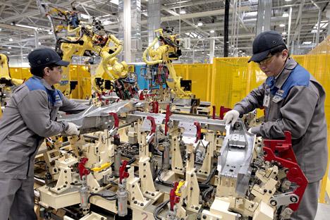 Russland will mit Industrieparks ausländische Investoren anlocken.