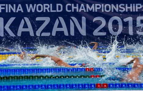 Vom 24. Juli bis 9. August richtet Kasan die Schwimmweltmeisterschaft aus.