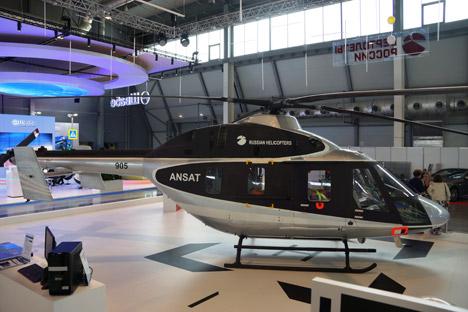 Der neue russische Hubschrauber Ansat.