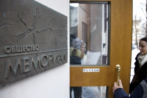 Bereits im März 2013 wurde das Büro von Memorial durchsucht.