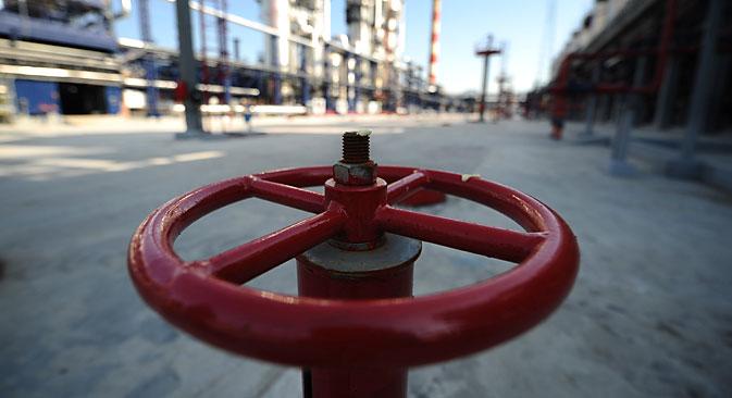 Gazprom kündigte zudem überraschend an, auch über das Jahr 2019 hinaus möglicherweise weiterhin Gas über die Ukraine nach Europa zu transportieren. Foto: Stanislav Krasilnikow / TASS