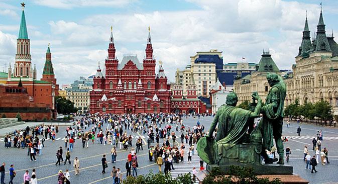 Der Rote Platz in Moskau. Foto: Shutterstock / Legion Media