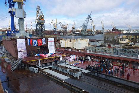 Derzeit verfügt Russland über die größte Eisflotte der Welt.