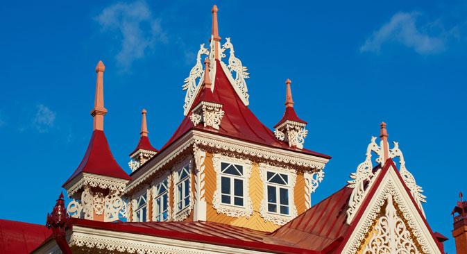 Die Stadt Tomsk in Sibirien ist ein architektonisches Freilichtmuseum.