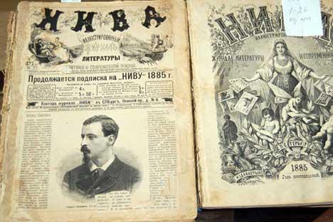 Die Monatszeitschrift Niva wurde von Verleger Adolf Marx herausgegeben.