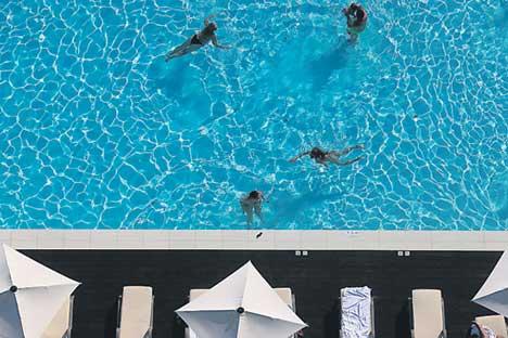 Sotschi macht europäischen Urlaubsorten in der Krise zunehmend Konkurrenz.