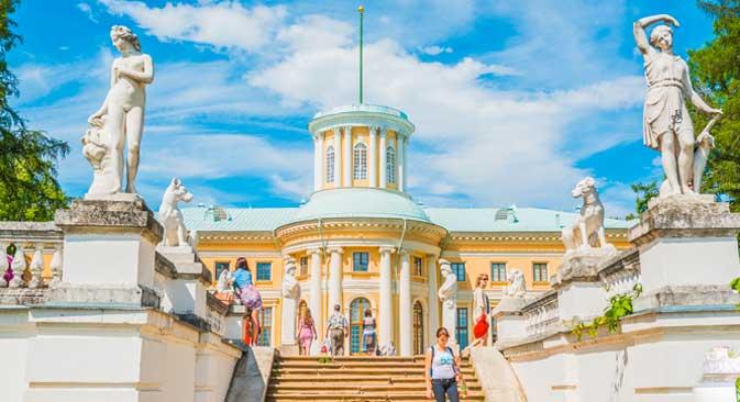 """Landsitz Archangelskoje wird oft als das """"Versailles Moskaus"""" bezeichnet."""
