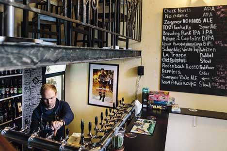 Craft-Bier ist eine neue Leidenschaft der Russen. In den Großstädten eröffnen neue Bars und Pubs mit lokalen Sorten.