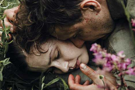 """Eine Szene aus dem wohl am kontroversesten diskutierten Film des Jahres""""Schlacht um Sewastopol"""" von Sergej Mokritzkij."""