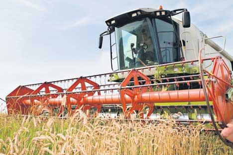 Der deutsche Landmaschinenhersteller Claas hat kürzlich sein Werk in Russland ausgebaut.
