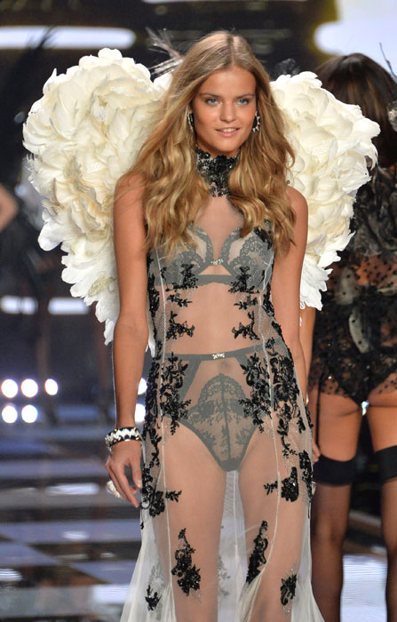 Ekaterina Grigorieva, 26 anni, ha partecipato per la prima volta alle sfilate di moda per Victoria´s Secret nel 2014
