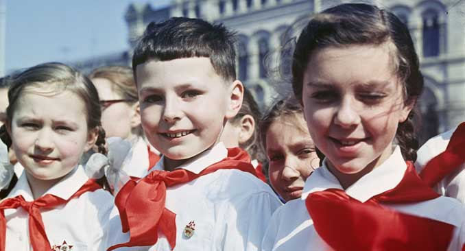 In der neuen Jugendorganisation werden russische Werte gepflegt.