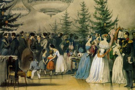 Die russische Zarenfamilie zeigte an Weihnachten ein Herz für Bedürftige.