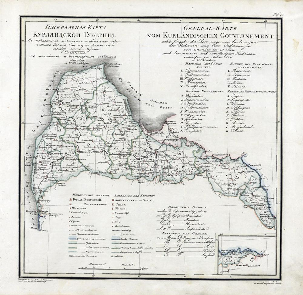 1737 wurde Johann Biron zum Herzog von Kurland gewählt.