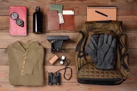 Was im russischen Winter im Gepäck nicht fehlen darf.