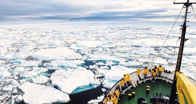 Die eiskalte Arktis ist ein heiß begehrter Landstrich.