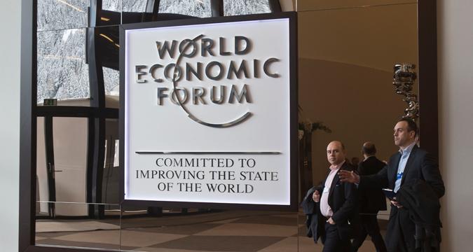 Il Forum di Davos.