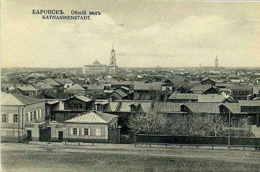 In Katharinenstadt (heute die Stadt Marx in der Oblast Saratow) besuchte Dulson das Jungengymnasium. Foto: Archivbild