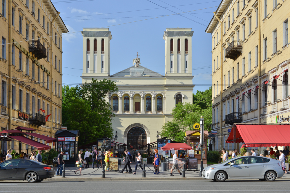 Die Petrikirche. Foto: Lori/LegionMedia