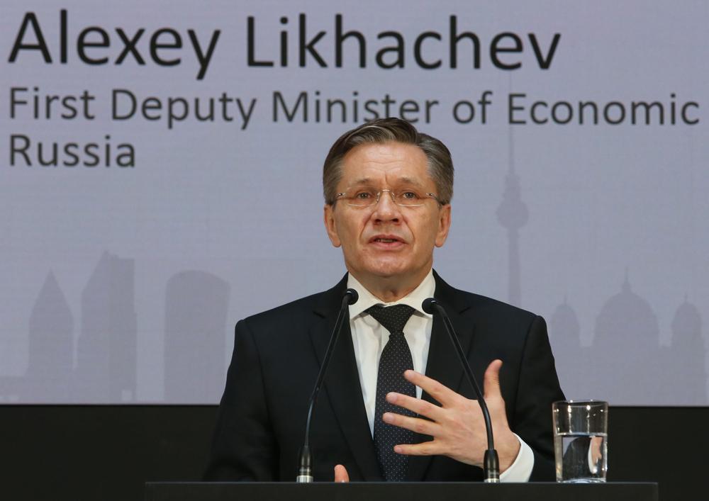 Die Rede von Alexej Lichatschow, Erster Stellvertreter des Ministers für wirtschaftliche Entwicklung Russlands, fand große Aufmerksamkeit.