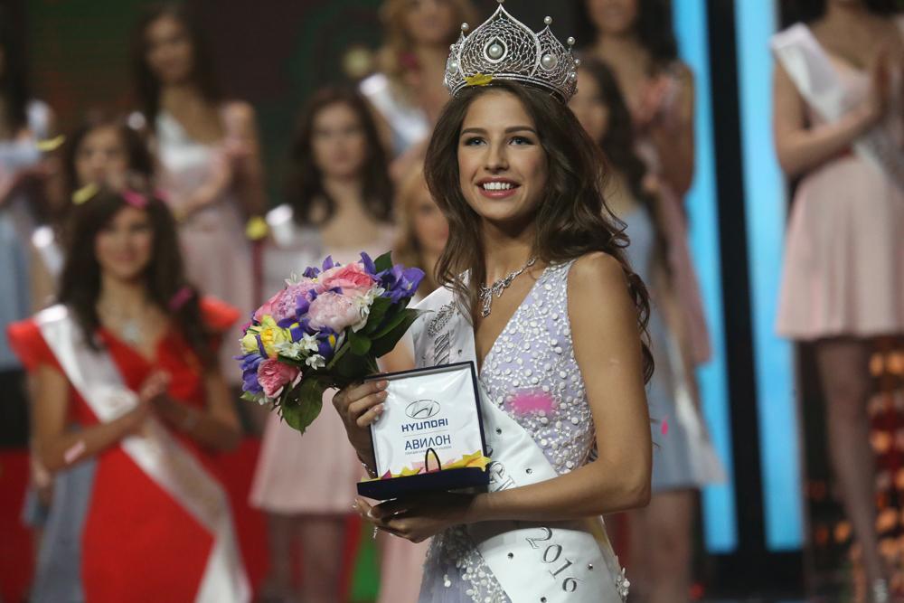 Jana Dobrowolskaja aus Tjumen (1 700 Kilometer von Moskau entfernt) ist die neue Miss Russland.