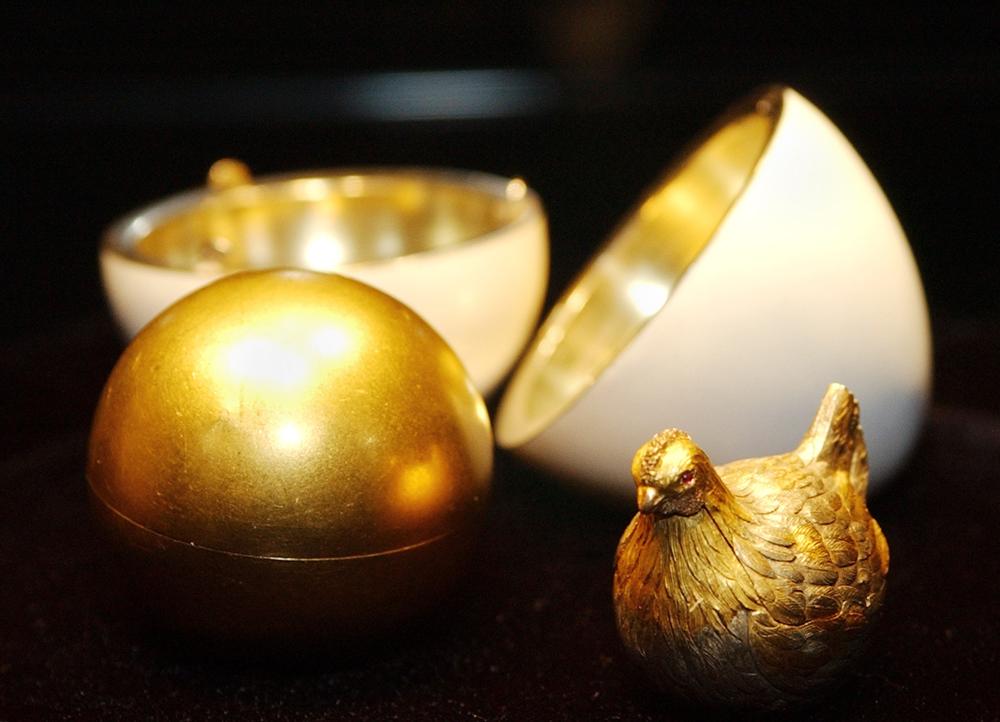 Das erste Osterei von Fabergé. Foto: AFP/East News