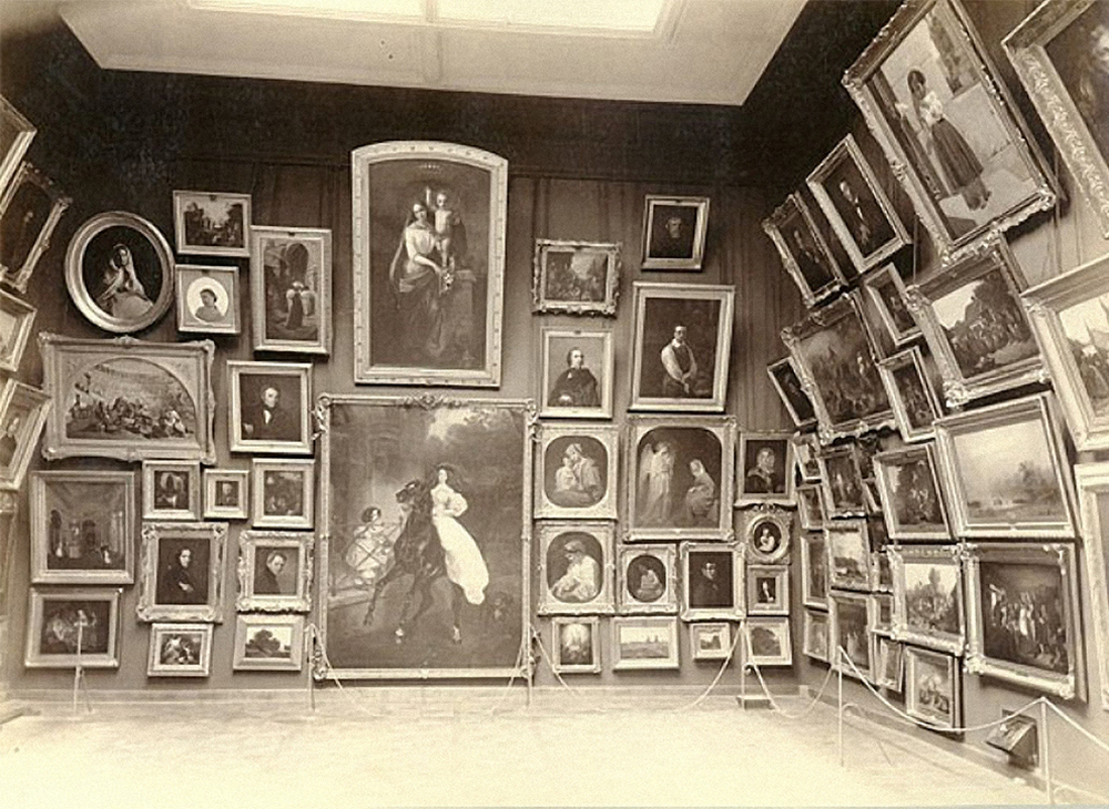 So sah die Tretjakow-Galerie zu den Lebzeiten von Pawel Tretjakow aus. Quelle: Archiv von Tretjakow-Galerie