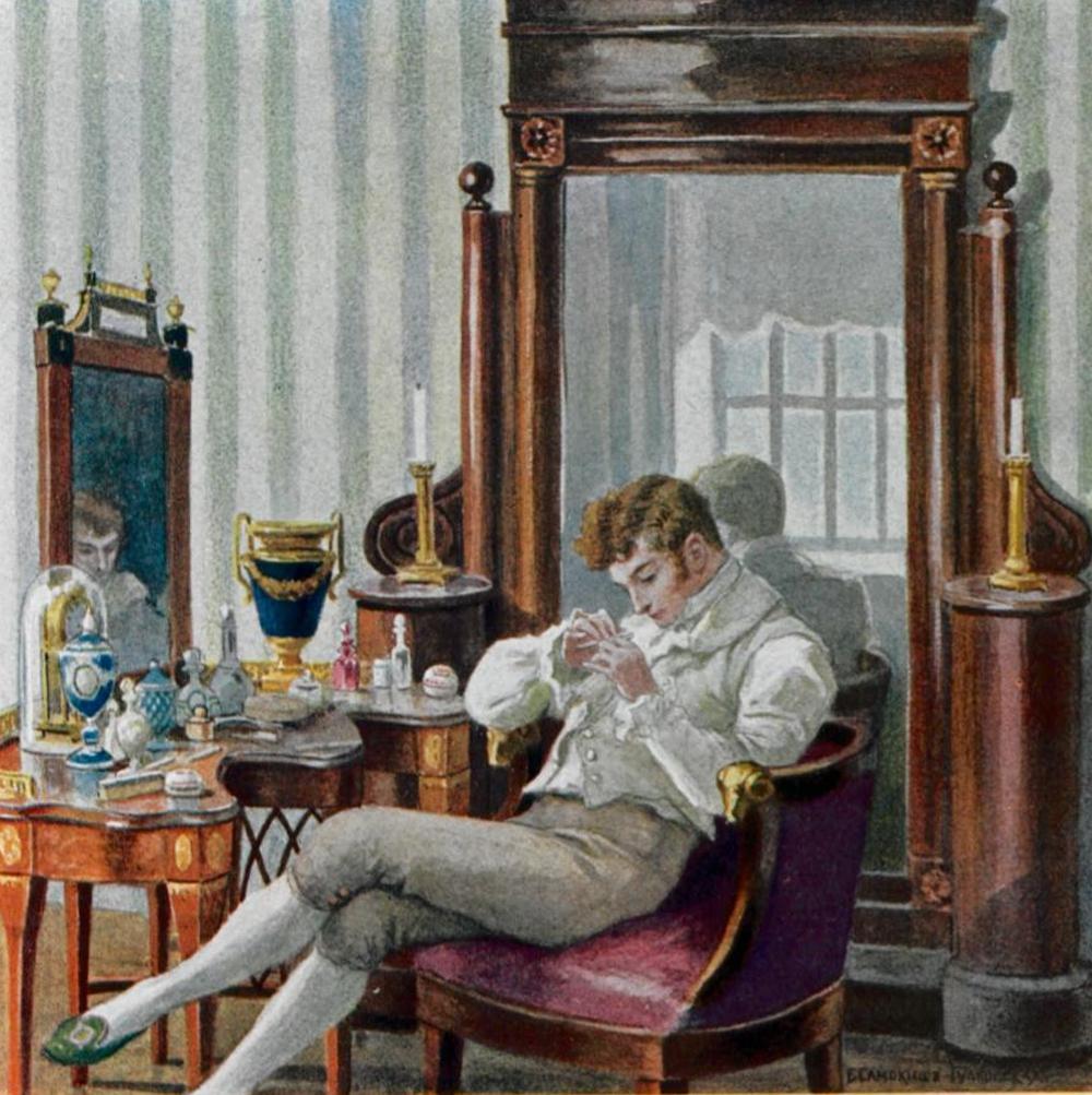 Eugen Onegin. Das Bild von Elena Samokisch-Sudkowskaja. Quelle: wikimedia.org