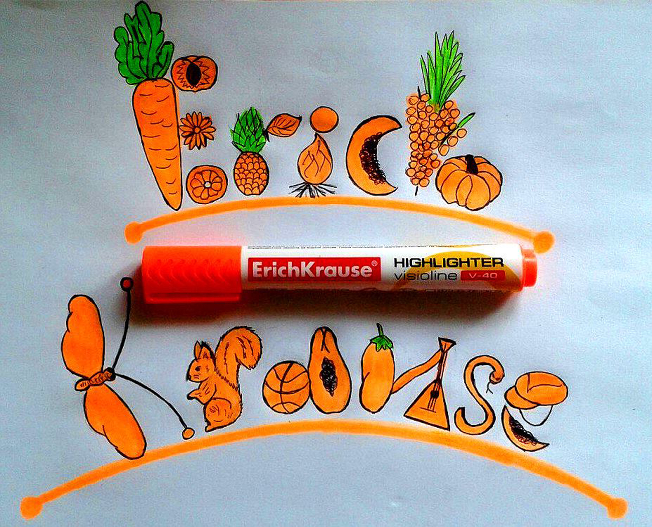 Erich Krause hat in Russland einen hohen Bekanntheitsgrad, die wenigsten wissen aber, dass die Stifte nicht aus Deutschland kommen. Foto: Pressebild
