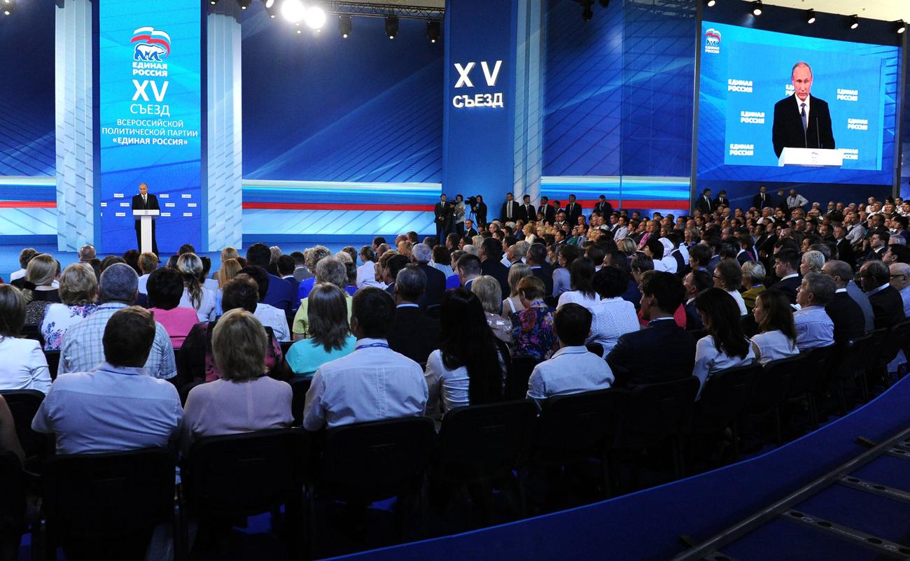 Sichert Putin den Wahlsieg der Partei Einiges Russland?