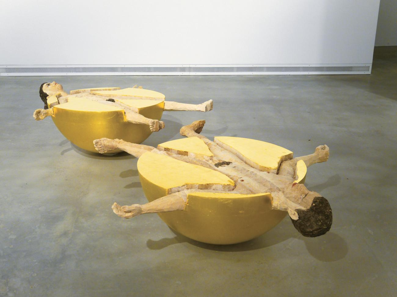 """Seit dem 7. September sind seine """"Skulpturen und Reliefs"""" im Moscow Museum of Modern Art zu sehen."""