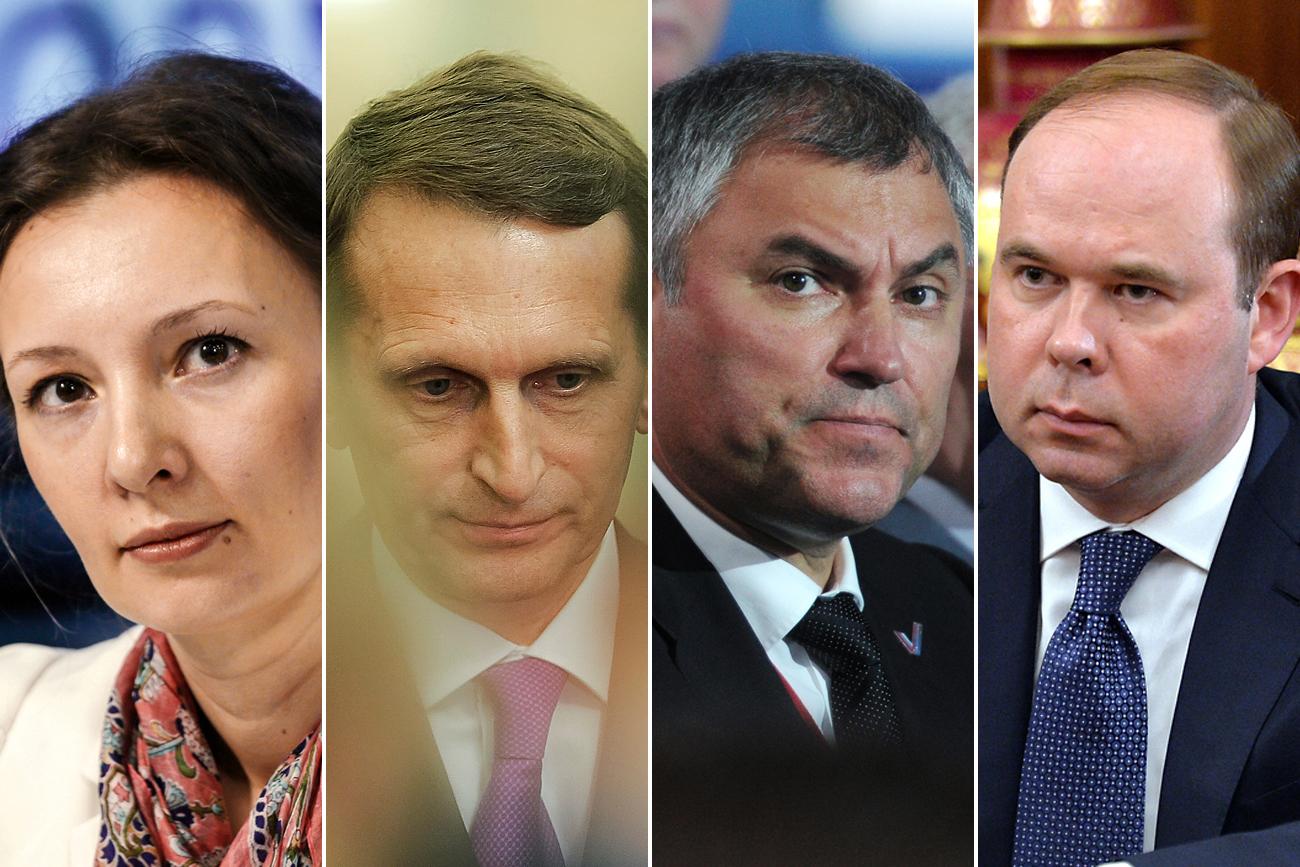 An wen gingen die wichtigsten Posten in Russland?