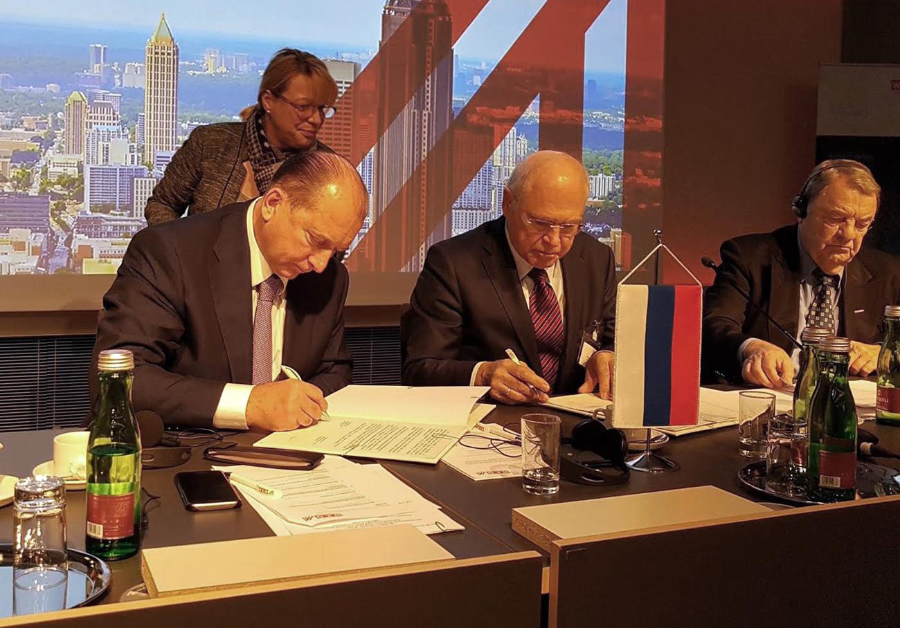 Der Wirtschaftsrat tagte erstmals unter Beteiligung der Regionen.