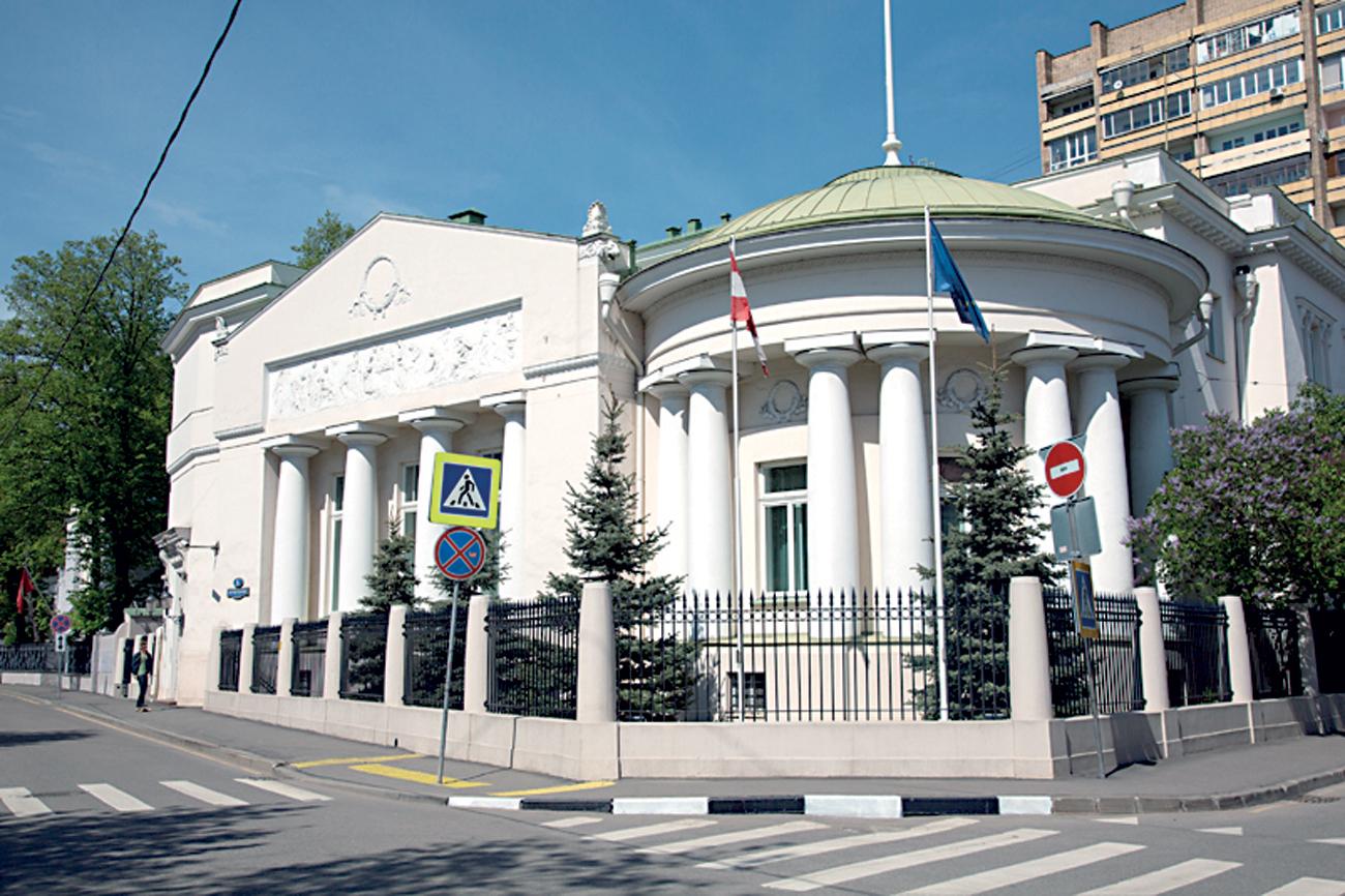 Das neoklassizistische Gebäude hat eine bewegte Vergangenheit.