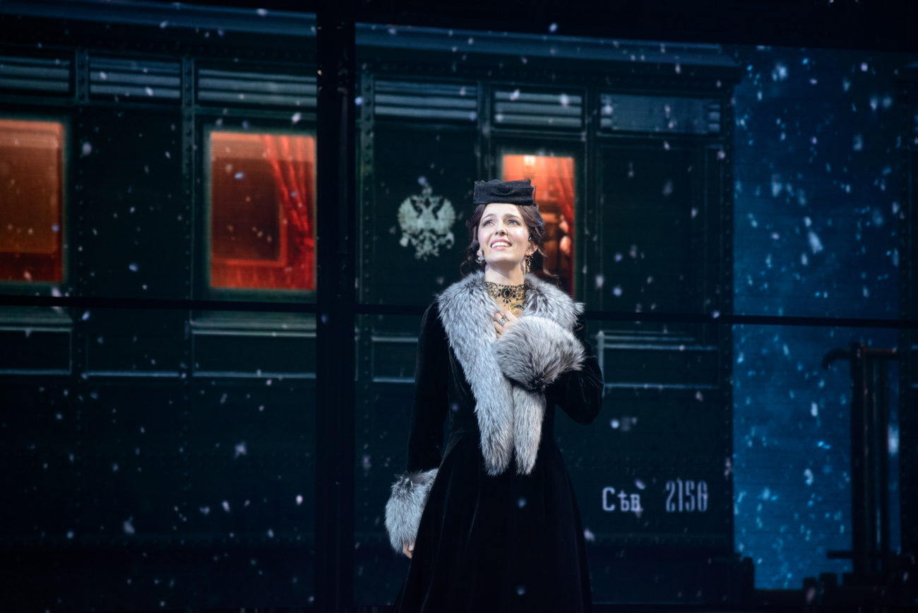 """Anna Karenina"" is the third original Russian musical to be staged at the theater."