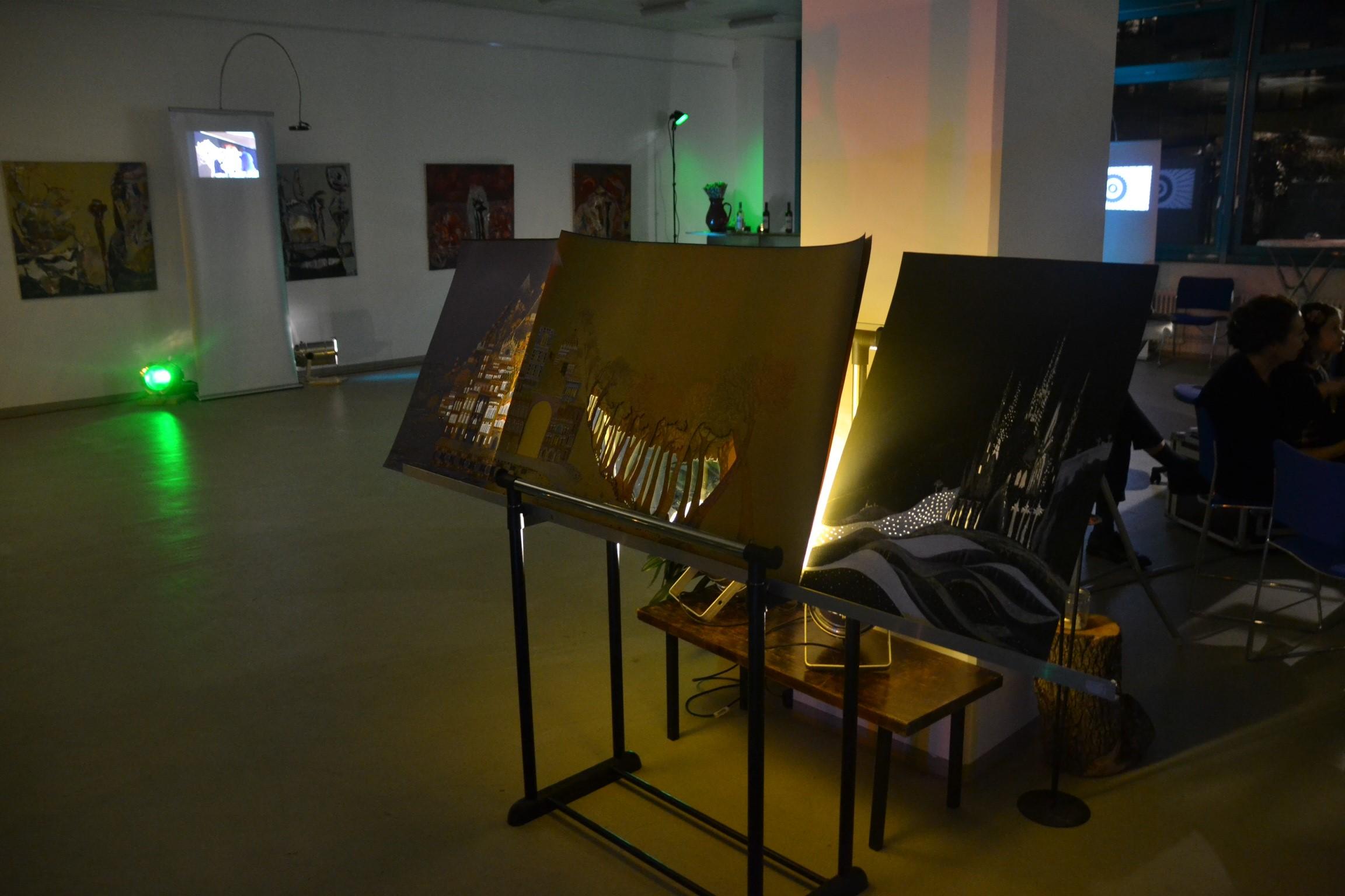 In der Galerie Quadrat waren die Kulissen zum Film ausgestellt.  / RBTH