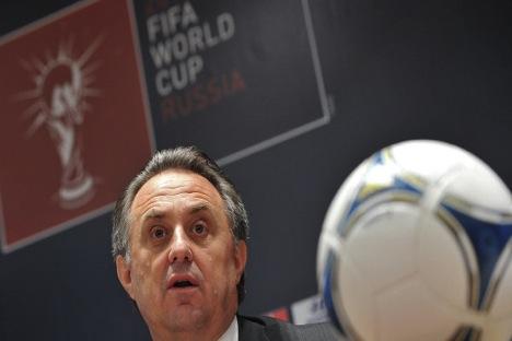Ministro do Esporte russo, Vitáli Mutko Foto: RIA Nóvosti