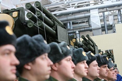 A Rússia, ainda hoje, continua a ser um dos principais líderes no mercado internacional de armas Foto: RIA Nóvosti