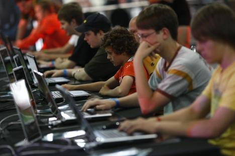 In Russland und den GUS-Staaten wurden im vergangenen Jahr über 1 Mrd. Euro für Computerspiele ausgegeben. Foto: Reuters / Vostock Photo