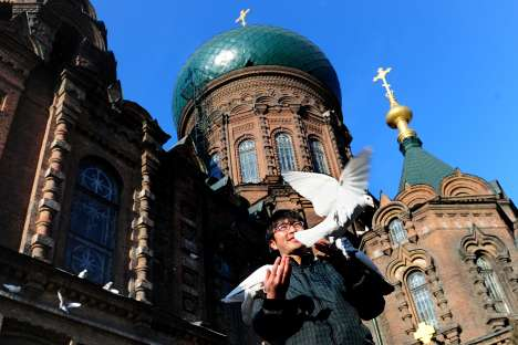 St Sofia's Cathedral is the most prominent reminder of Harbin's Russian legacy. Source: AFP/EastNews
