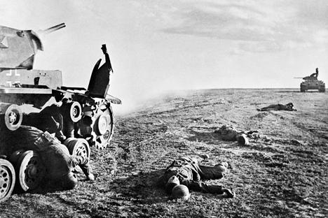 Segundo Ministério da Defesa russo, cerca de 1,5 milhão soldados mortos não foram sepultados Foto: Zelma / RIA Novosti