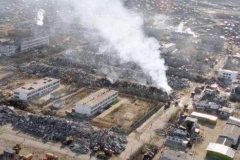 Земјотресот во Нефтегорск (1995). Извор: ИТАР-ТАСС.