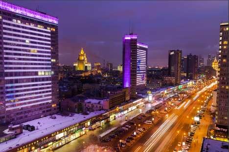 Cidade ganhou título de mais congestionada do mundo, com 300 km parados no horário de pico Foto: Ígor Stepanov