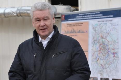 Градоначалникот на Москва Сергеј Собјанин.