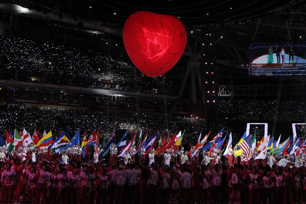 Organização da Universíada 2013 pode lançar Kazan como favorita à sede das Olimpíadas de 2024 Foto: Rossiyskaya Gazeta
