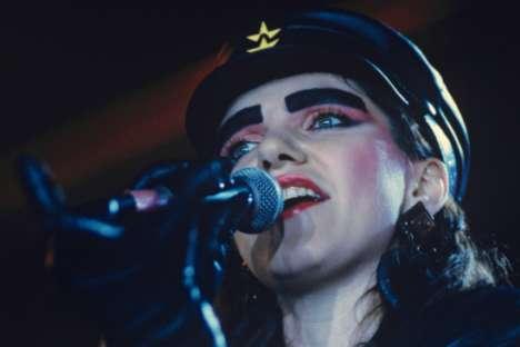 "Die Frontfrau der Band ""Bravo"" Schanna Agusarowa. Foto: RIA Novosti"