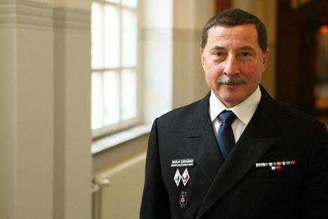 Nikolai Zorchenko, the captain of the Sedov. Source: Christian Hueller
