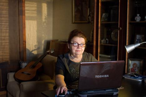 Galina Tarasova. Source: Kommersant / Varvara Lozenko