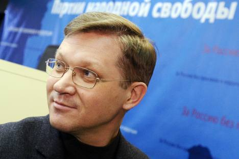 """Vladimir Ryzhkov, one of the senior opposition figures: """"You have to be careful and sometimes even indecisive if you don't want to damage the crop. If I was a determined politician, I would have called for the storming of the Kremlin."""" Source: ITAR-T"""