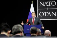 Moscow may skip NATO summit. Pictured: Russia's Foreign Minister Sergei Lavrov. Source: AP